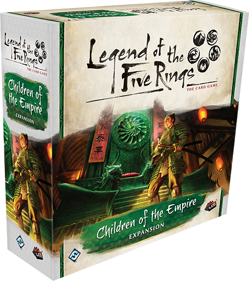 Legend of the Five Rings: Card Game - Children of the Empire