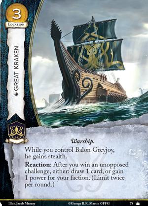 Spoils de la V2 Great-kraken