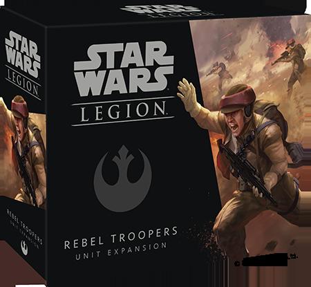 Star Wars: Legion - Rebel Troopers