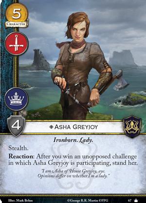 Spoils de la V2 Asha-greyjoy