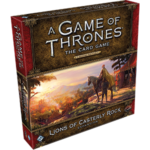 Lions of Casterly Rock Expansion: AGOT LCG 2nd Edition -  Fantasy Flight Games