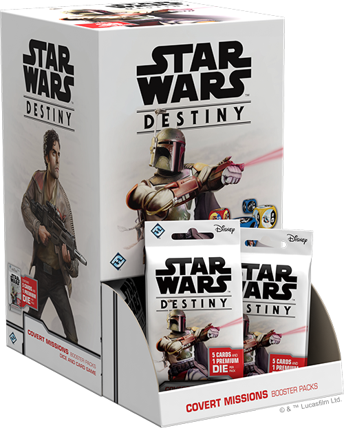 Star Wars Destiny Covert Missions 2x Experimental Booster